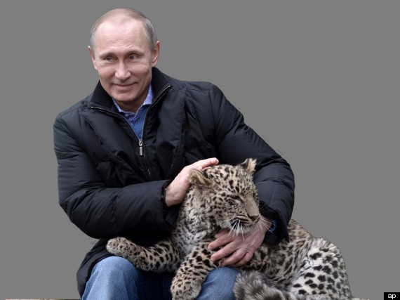 Vlad Putin and the leopard